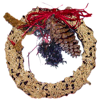 Mr. Bird Rustic Wreath #603(Small)