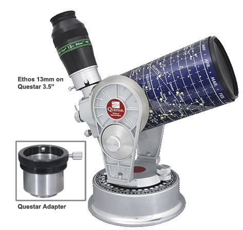 TeleVue Questar to 1.25