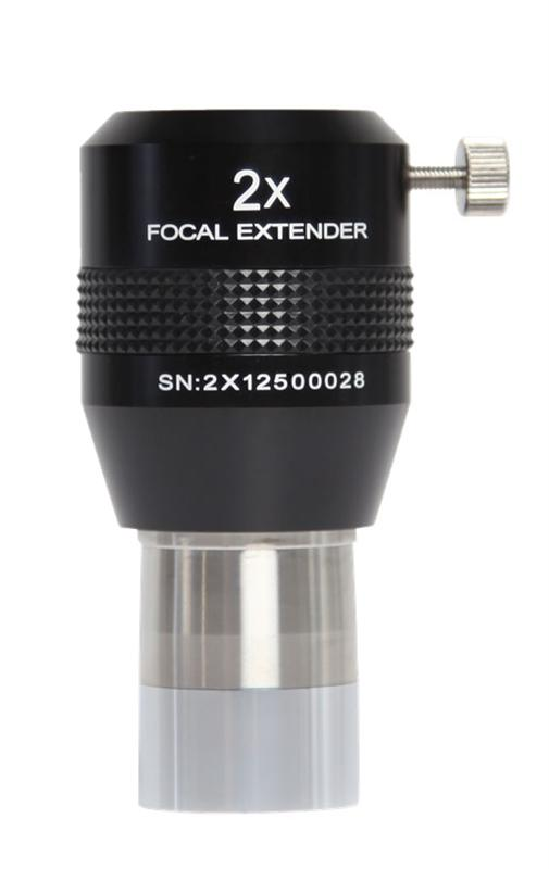 Explore Scientific 2x Focal Extender, 1.25-inch Barrel, 4 Elements