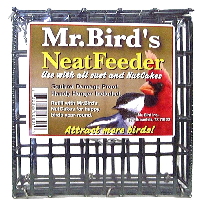 Mr. Bird NeatFeeder for #110 and Suet Cakes