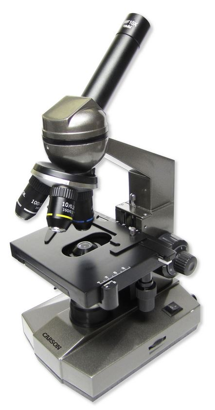 Carson MS-100 100x-1000x Biological Microscope