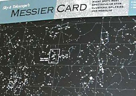 Sky Publishing Messier Card Laminated