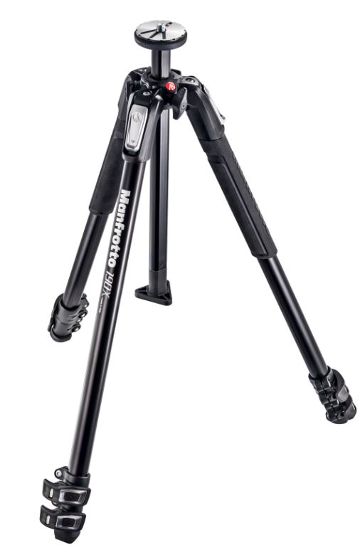 Manfrotto MT190X3 3 Section Aluminum Tripod Legs
