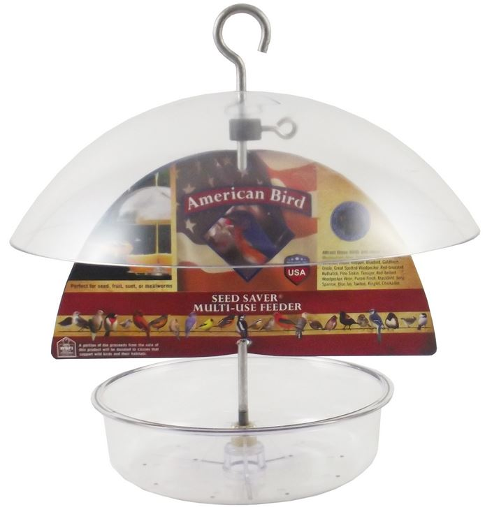 Droll Yankees American Bird Seed Saver Multi-Use Feeder (AB-DF10)