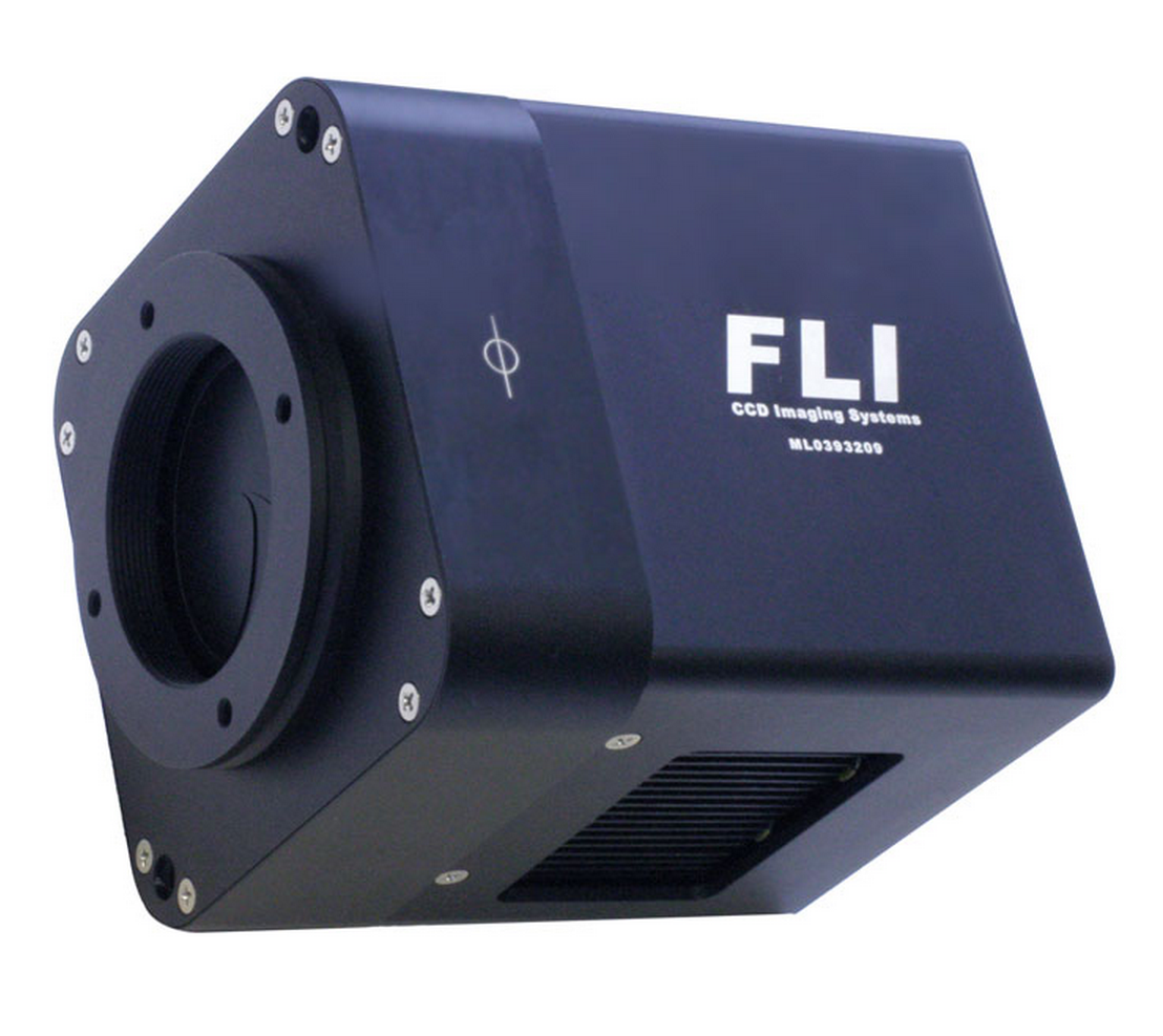 FLI Microline CCD42-10-1-970 Back Illuminated Midband w/ 45mm Shutter