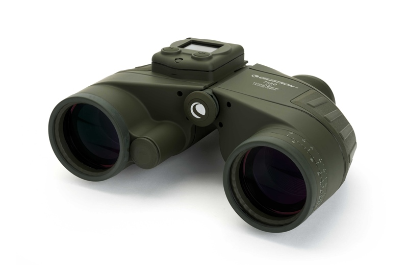 Celestron Cavalry 7x50 Binocular with GPS, Digital Compass & Reticle