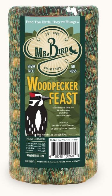 Mr. Bird Woodpecker Feast Small Cylinder