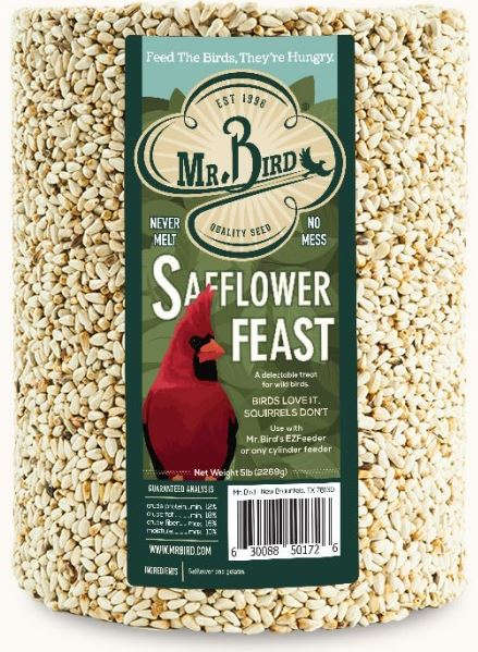 Mr. Bird Safflower #172SF Large Cylinder (Full Case)