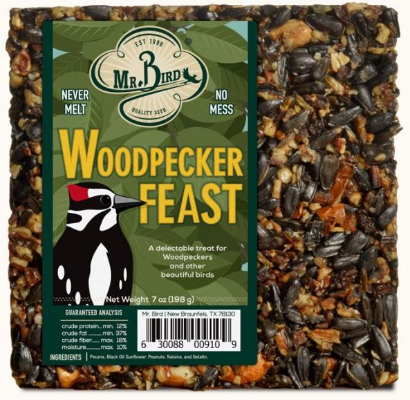 Mr. Bird Woodpecker Feast #910 8oz