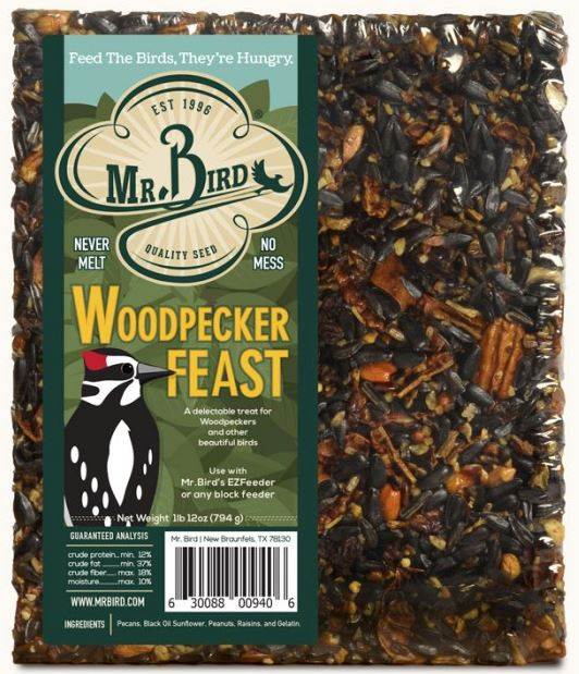 Mr. Bird Woodpecker Feast #940 Large Block