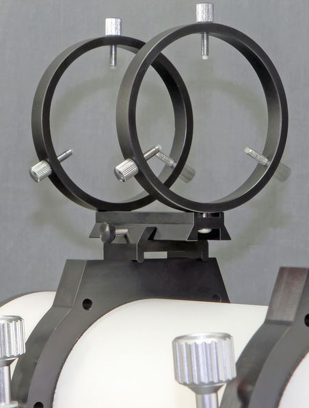 Stellarvue R80ET 80MM Finderscope Rings for Hinged Tube Rings *Discontinued by manufacturer, last 1 available*