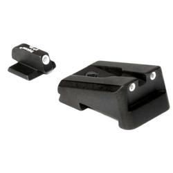 Trijicon Green Front & Green Rear Night Sight Set - Colt Enhanced Officers/Combat Commander
