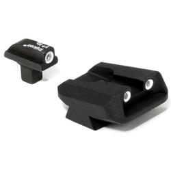 Trijicon Colt Officers 3 Dot Green Front & Green Novak Rear Night Sight Set