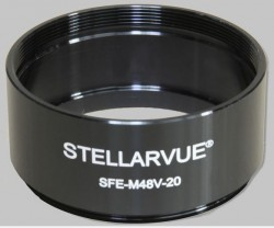 Stellarvue 48mm Extension Tube - 20mm Length