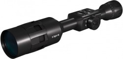ATN X-Sight-4k, 5-20x Pro edition Smart Day/Night Hunting Rifle Scope with Full HD Video rec, WiFi, GPS, Smooth zoom and Smartphone controlling thru iOS or Android Apps, Black, DGWSXS5204KP