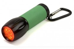 Carson Optical RedSight Red LED Flashlight
