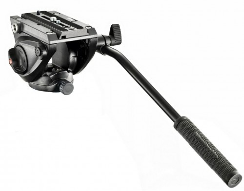 Manfrotto 500 Fluid Video Head w/ Flat Base