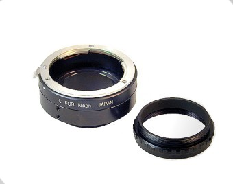 SBIG CLA-STF-NIKON-LARGE STF Large Chip Lens Adapter (without filter wheel)