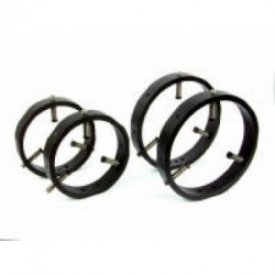 "Baader 5"" Guidescope Rings for 60 mm - 110 mm OD Scopes"