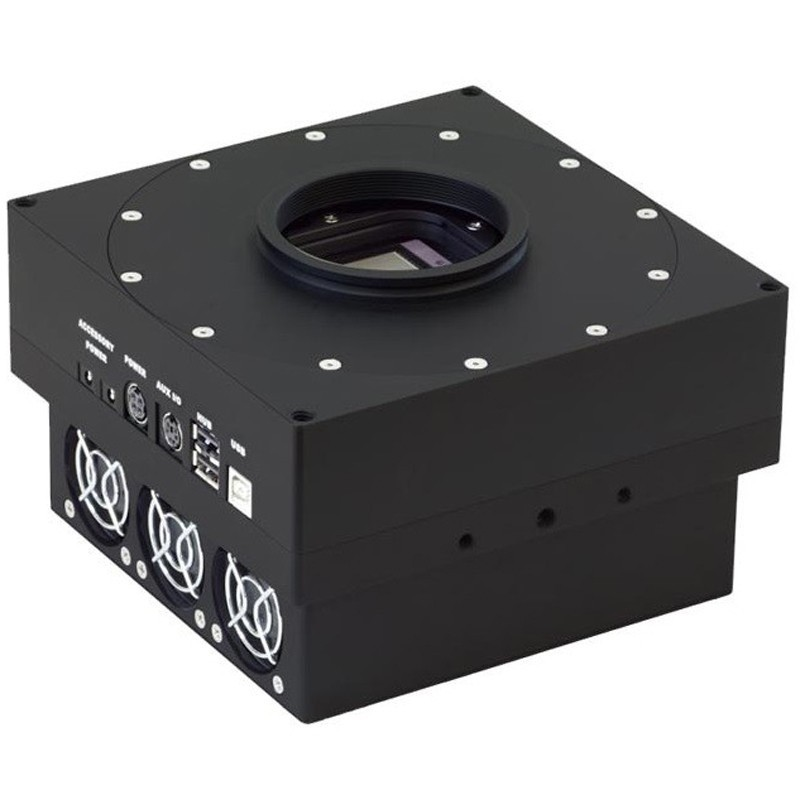 FLI - PROLINE SERIES - E2V CCD47-20-1-339 BACK ILLUMINATED AIMO MIDBAND AR COATING MONOCHROME CCD CAMERA (65mm SHUTTER)