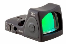 Trijicon 6.5 Adj Red RMR Type 2, Black, 6.5MOA, 700679
