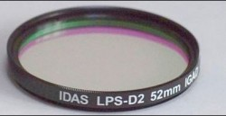 IDAS Light Pollution Suppression Filters - D2. 52mm LPS-D2 filter