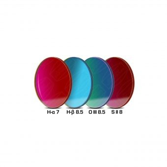 SBIG 50mm Round NB Set of 4 filters