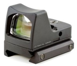 Trijicon RMR 6.5 MOA LED Red Dot Sight w/ RM33 Picatinny Rail Mount, RM02-33