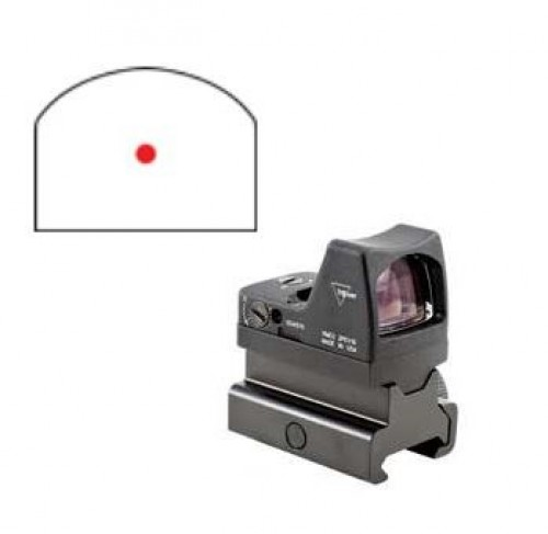 Trijicon 6.5 Red RMR Type 2 w/ RM34 Picatinny Rail Mount, Black, 6.5MOA, 700609