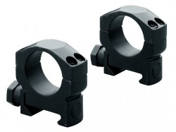 NEW Leupold Mark 4 Riflescope Rings, 30mm Diameter, Medium, Matte Black, Steel 61049, NSN-1240-01-572-4487
