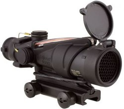Trijicon ACOG 4x32, ARMY Rifle Combat Optic for the M150 w/ TA51 Mount TA31RCO-M150CP