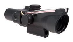 Trijicon 1.5x24 Compact ACOG Riflescope,Dual Illuminated Red 8 MOA Triangle Reticle w/ M16 Carry Handle Base and Mounting Screw 400156