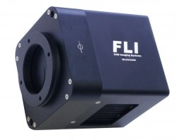 FLI - MICROLINE SERIES -  GRADE 2 FULL FRAME FRONT ILLUMINATED MONOCHROME CCD CAMERA WITH 25MM HIGH SPEED SHUTTER