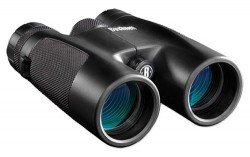 Bushnell 10x42 Powerview Roof Prism Medium Binoculars, Black, Box Pack 141042