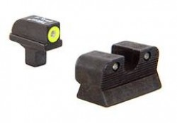 Trijicon Colt Officers/A1 HD Night Sight Set Yellow Front Outline