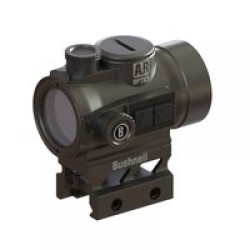Bushnell AR Optics TRS-26 Red Dot Sight, 3 MOA Red Dot Reticle, Aimpoint Base, Matte Black