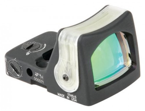 Trijicon RMR Dual Illuminated Red Dot Sight - 9.0MOA, Green Dot Reticle RM05G