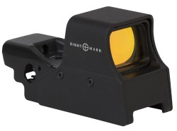 Sightmark Ultra Shot M-Spec 1x 65 MOA Red Circle Dot Reflex Sight, CR2 Battery, Black, SM26005