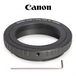 WIDE T-RING CANON EOS WITH D-52I TO T-2 AND S52