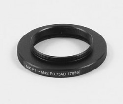 Borg M42P1 to M42P0.75 Adapter