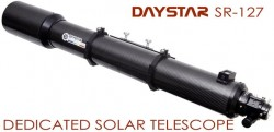 Daystar Filters 127mm Dedicated Solar Telescope w/ .7A Bandpass SE (Standard Grade) Filter