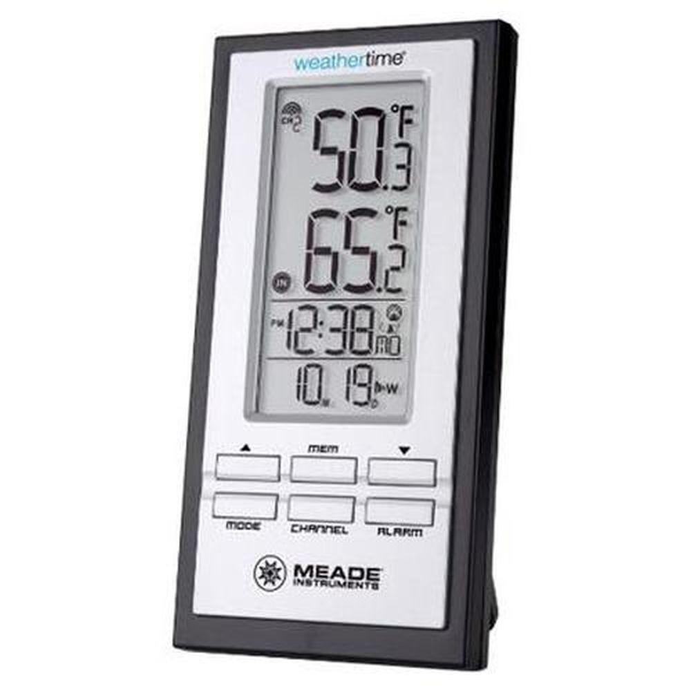 Meade Personal Weather Station with Atomic Clock TE278W