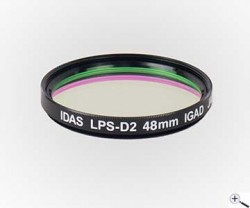 Idas LPS-D2 filter for Canon APS-C frame camera