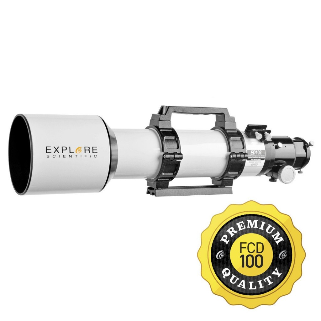 Explore Scientific 102MM Classic White FCD100 ED APO Refractor