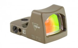 Trijicon 6.5 Red RMR Type 2, FDE, 6.5MOA, 700645