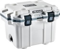 Pelican PELICAN COOLERS IM 30 QUART ELITE WHITE/GRAY