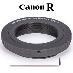 WIDE T-RING CANON R (FOR CANON R BAYONET) WITH D52I TO T-2 AND S52