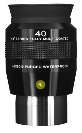 Explore Scientific 62 Series LE 40mm Argon Purged Waterproof Eyepiece