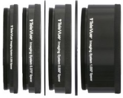TeleVue Extension Tubes and Spacers Set for 2.4