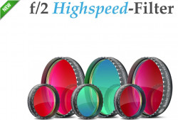 BAADER F/2 HIGHSPEED-FILTER SET 50X50MM SQUARE